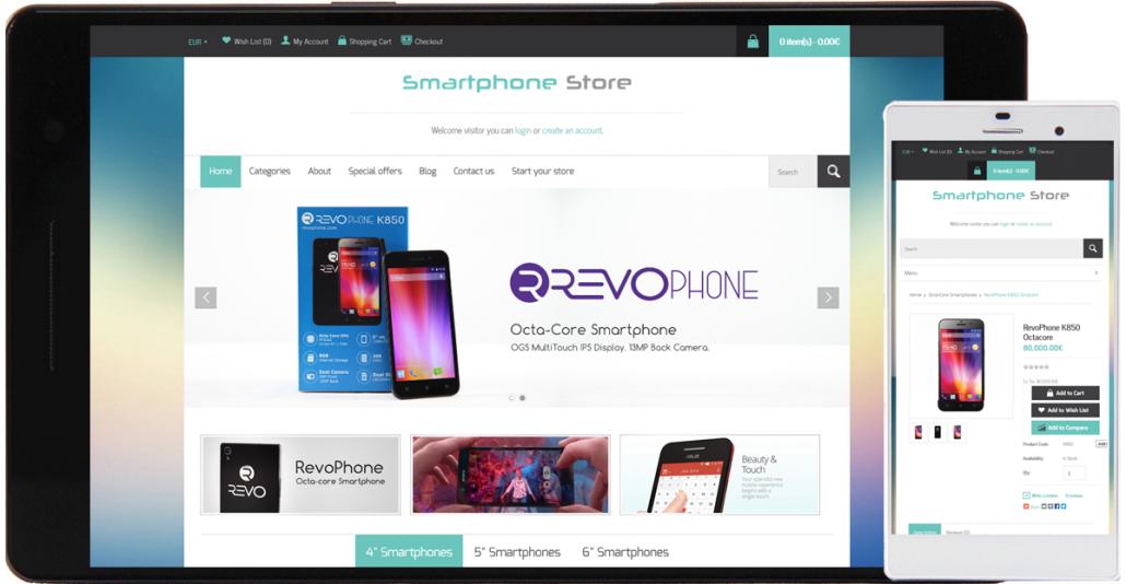 smartphones e-store
