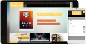 tablets store template