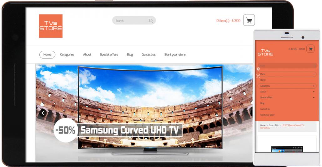 start your own TV e-store